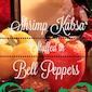 Shrimp Kabsa Stuffed In Bell Peppers