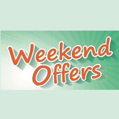 Weekend super value offers!