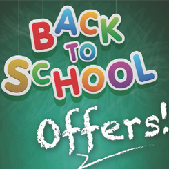 Back to School offers - 3