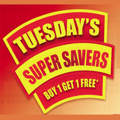 Tuesday's Super Savers at Choithrams!