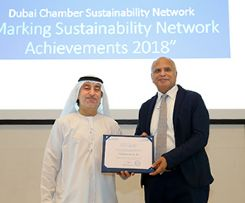 Choithrams has been honoured at Marking Sustainability Network Achievements 2018-Dubai Chamber
