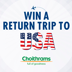 Win a trip to USA