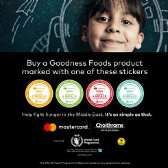 Zero Hunger: Join Choithrams and the World Food Programme to create a brighter future for children in need
