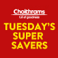Tuesday Super Saver