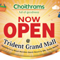 Offers at our new store - Trident Grand Mall