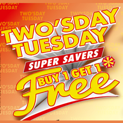 Two's Day Tuesday at Choithrams!