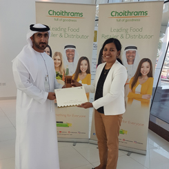 Appreciation by Dubai Municipality Al Kifaf Centre