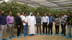 Team Choithrams Visits Elite Agro Farms In Al Ain