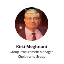 Choithrams Procurement Manager in the Judges panel of Gulfood 2018