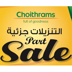 Part sale at Choithrams!