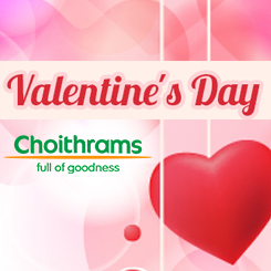 Valentine's Day collection at Choithrams - 2018